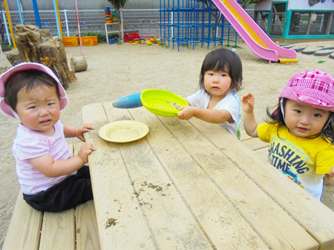 1〜2歳児のスケジュール