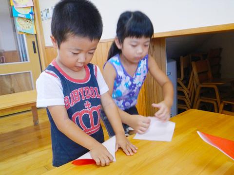 3〜5歳児のスケジュール